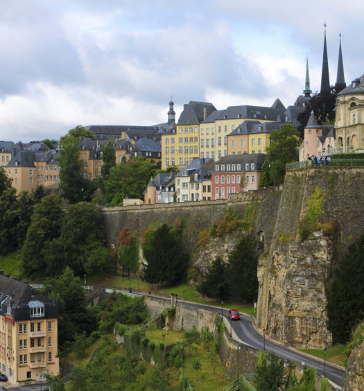 Luxembourg ville casemates
