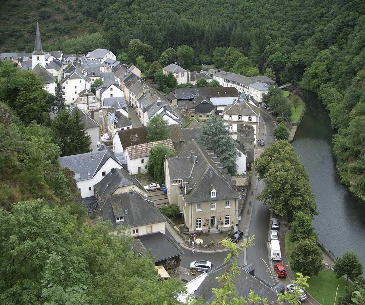 Luxembourg quartier de maison