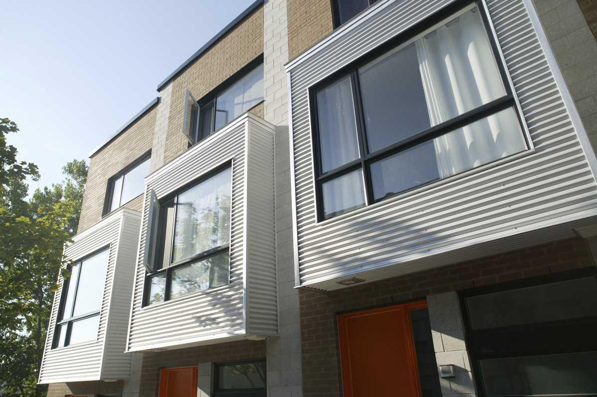 Immeuble moderne vue de face