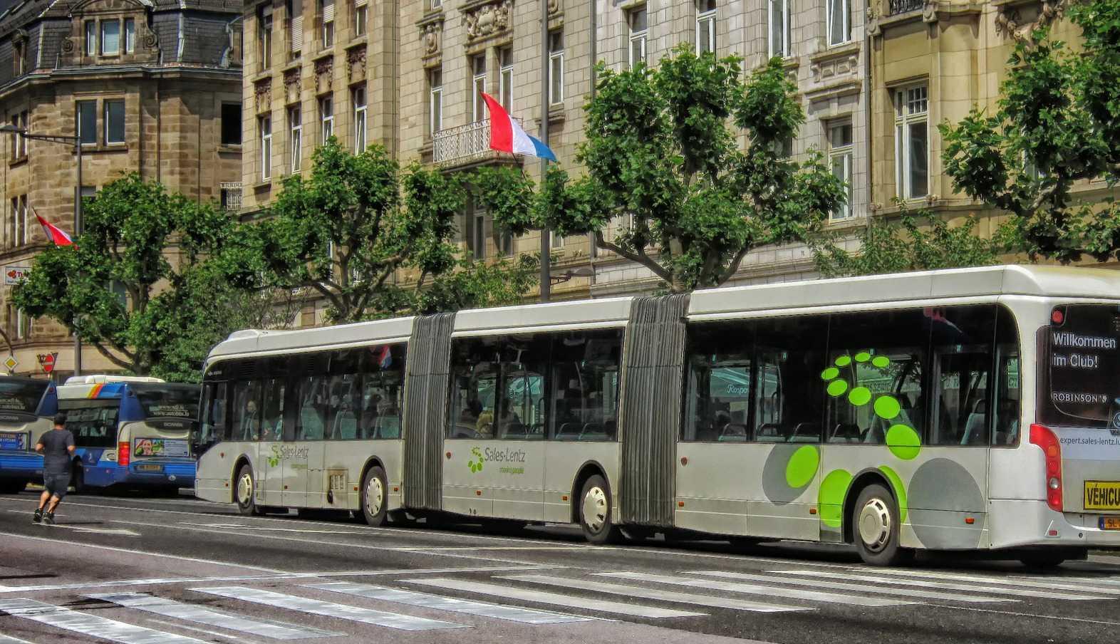 Bus Avenue de la liberté Luxembourg