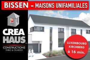 Nouvelles Maisons unifamiliales à Bissen