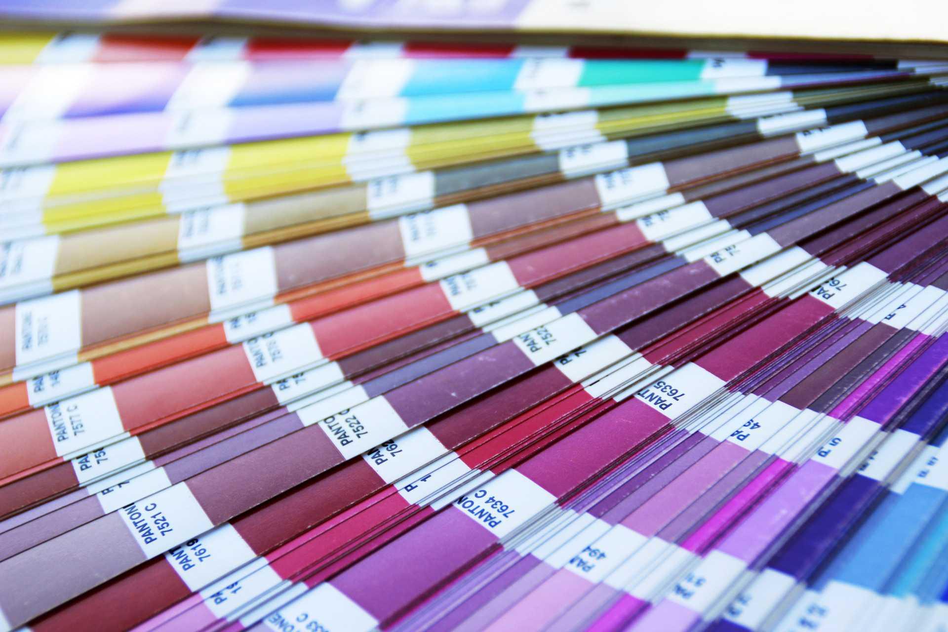 Nuancier de couleur et teintes pour amenagement interieur