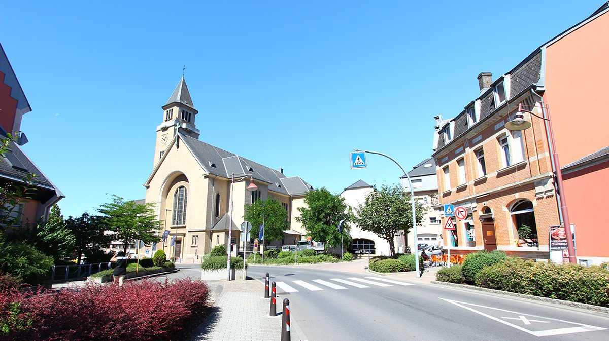 Eglise de Schifflange Luxembourg