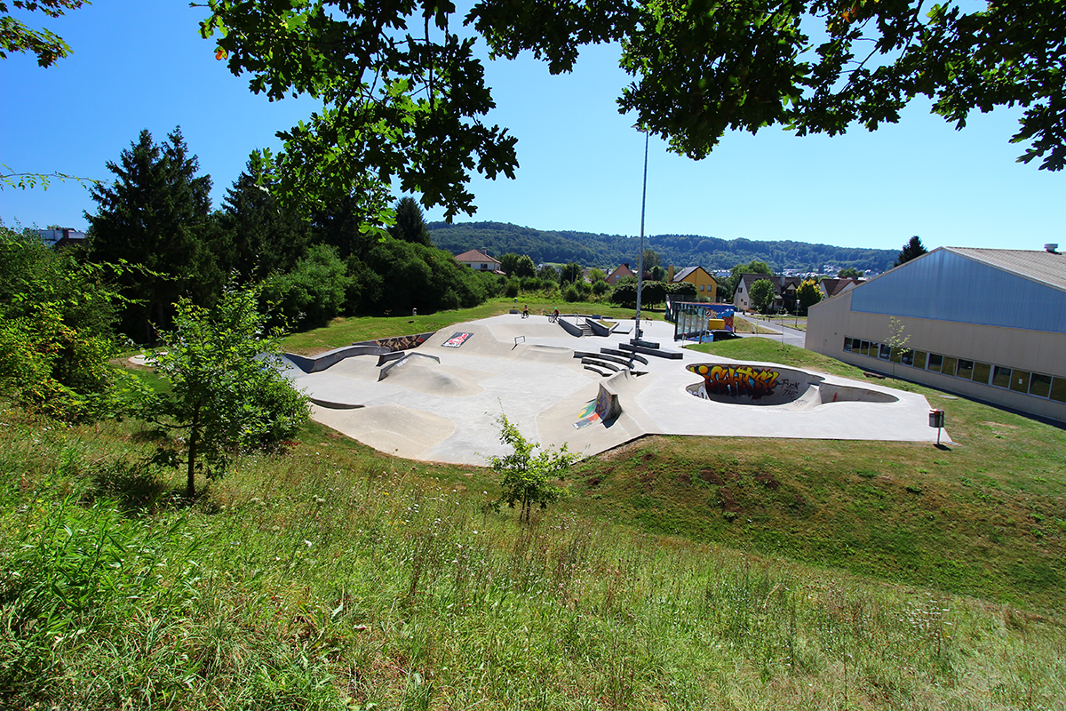 Gymnase à Schifflange Luxembourg