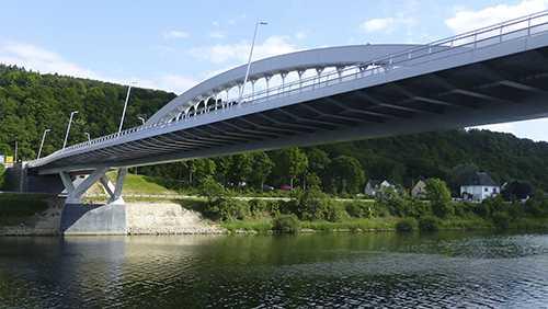 Pont de Grevenmacher, Moselle