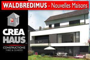 Nouvelles maisons unifamiliales à Waldbredimus
