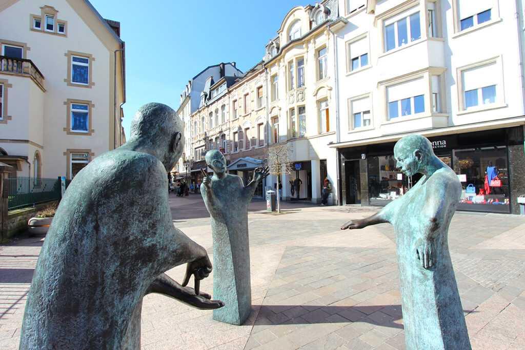 Ettelbruck Statue
