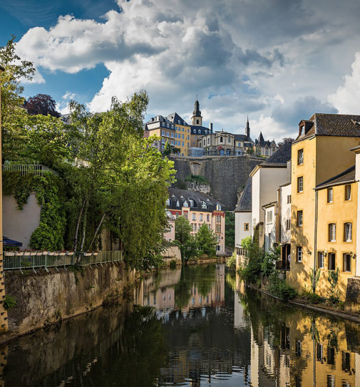 Luxembourg vieille ville