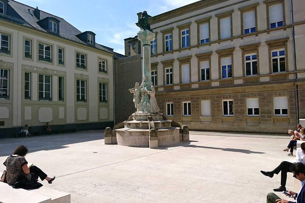 Place à Luxembourg ville