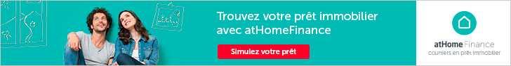 Simulez votre prêt avec atHomeFinance