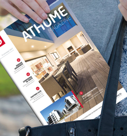 Point de distribution atHome mgazine