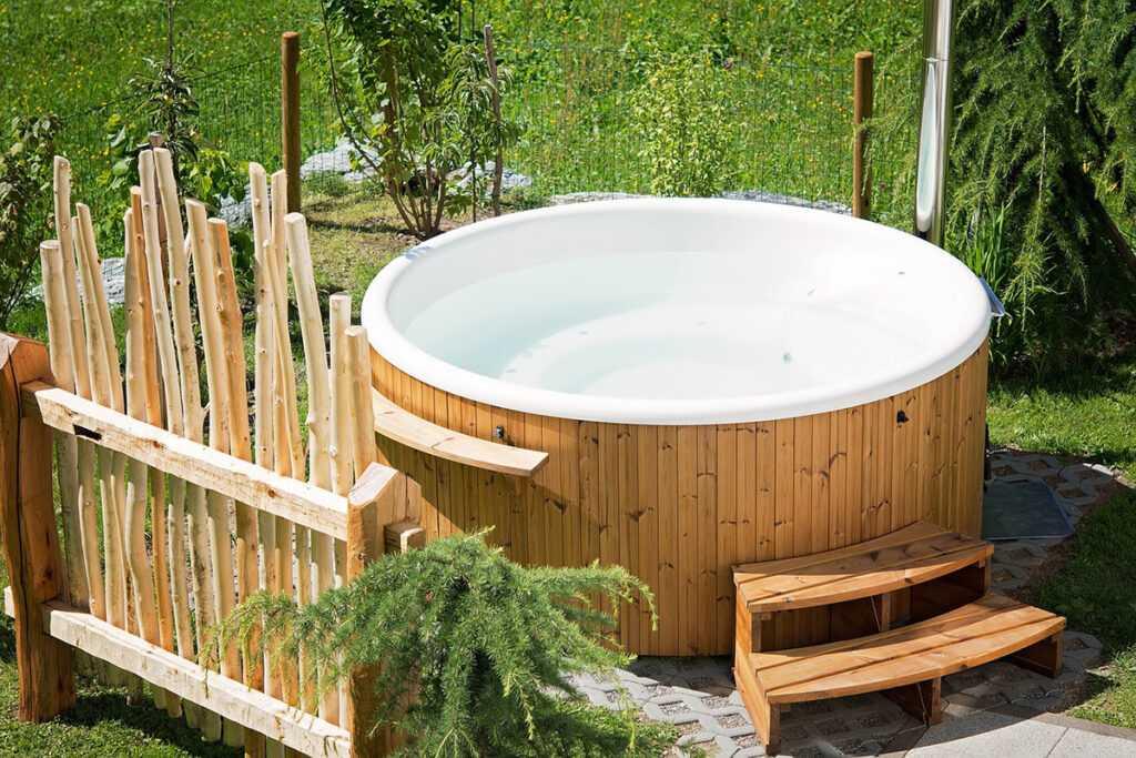 Un spa dans son jardin