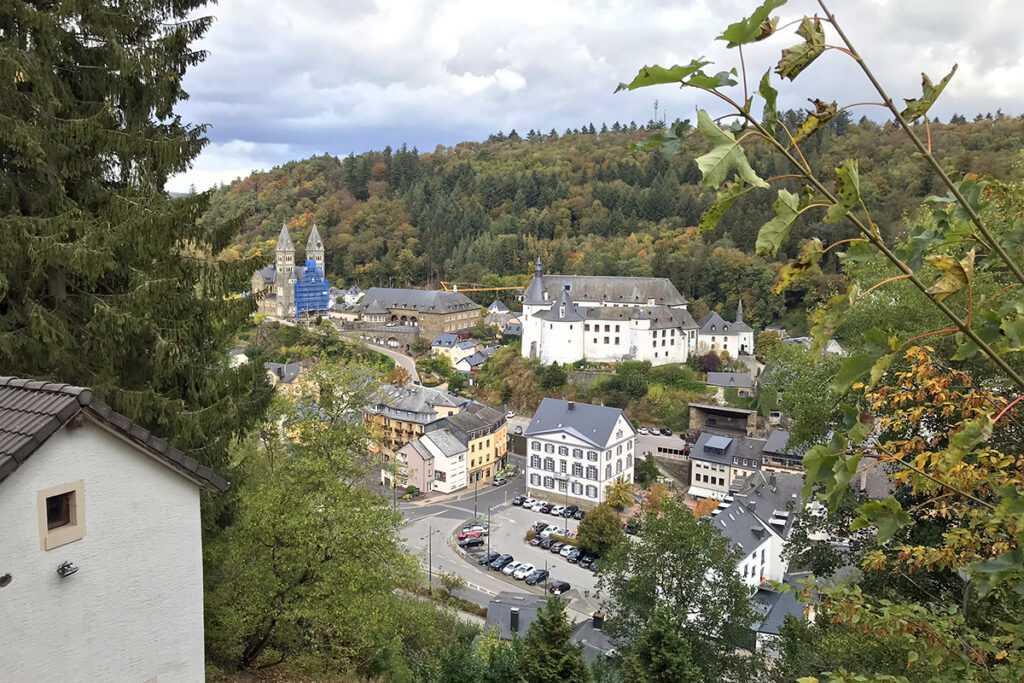 Vue sur Clervaux