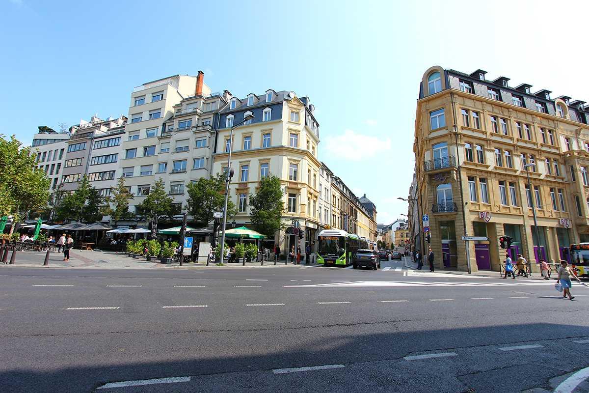 Luxembourg quartier gare commerces