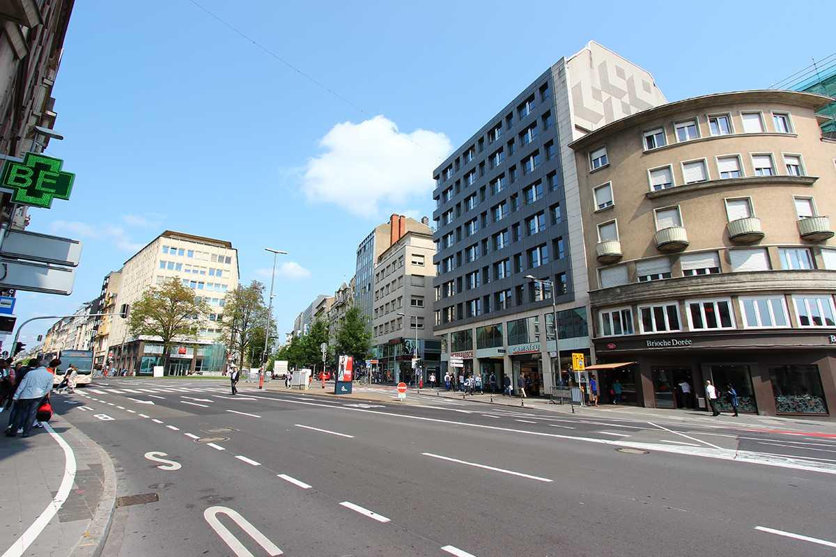 Luxembourg Rue de la Gare